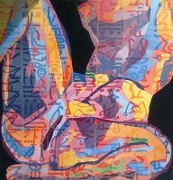 Egipcanka-ulje-na-platnu-100-x-100cm-2014-za-Milicu2