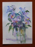 akvarel-hibiskus-35x46