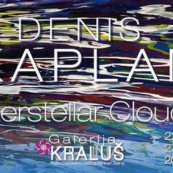 """Izložba slika Denisa Kaplana """"Interstellar Clouds""""..."""