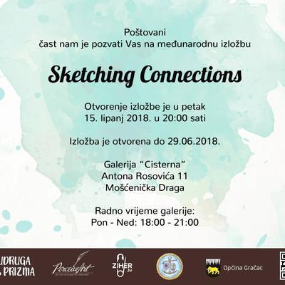 """Otvorenje međunarodne izložbe """"Sketching Connections"""""""