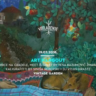 Vrtlarenje – Art Hangout vol. 2 I 19/6/18 VIB