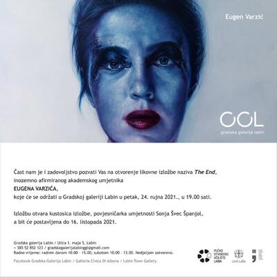 Eugen Varzić, The End, samostalna izložba u Gradskoj galeriji Labin