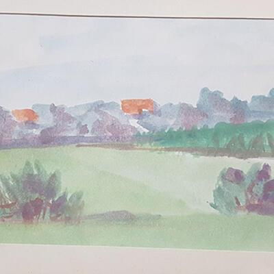 Nedeljko Tintor - radionica crtanja akvarelom i tušem