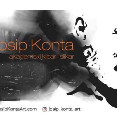 Samostalna izložba Josipa Konte