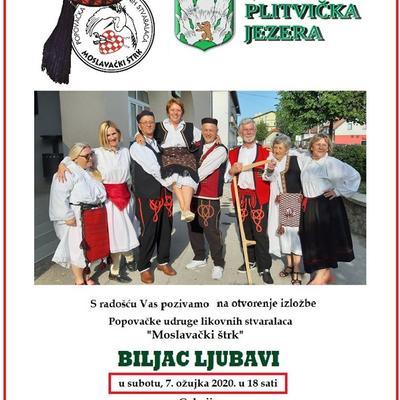 """Likovna izložba """"BILJAC LJUBAVI"""""""