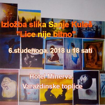 """Izložba slika Sanje Kuleš """"Lice nije bitno"""""""